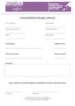 Anfrageformular für Lektorat für Studenten.