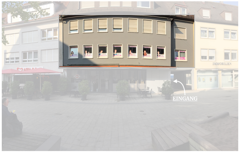 Die Außenansicht vom Studienkolleg Heilbronn. Direkt in der SülmerCity.