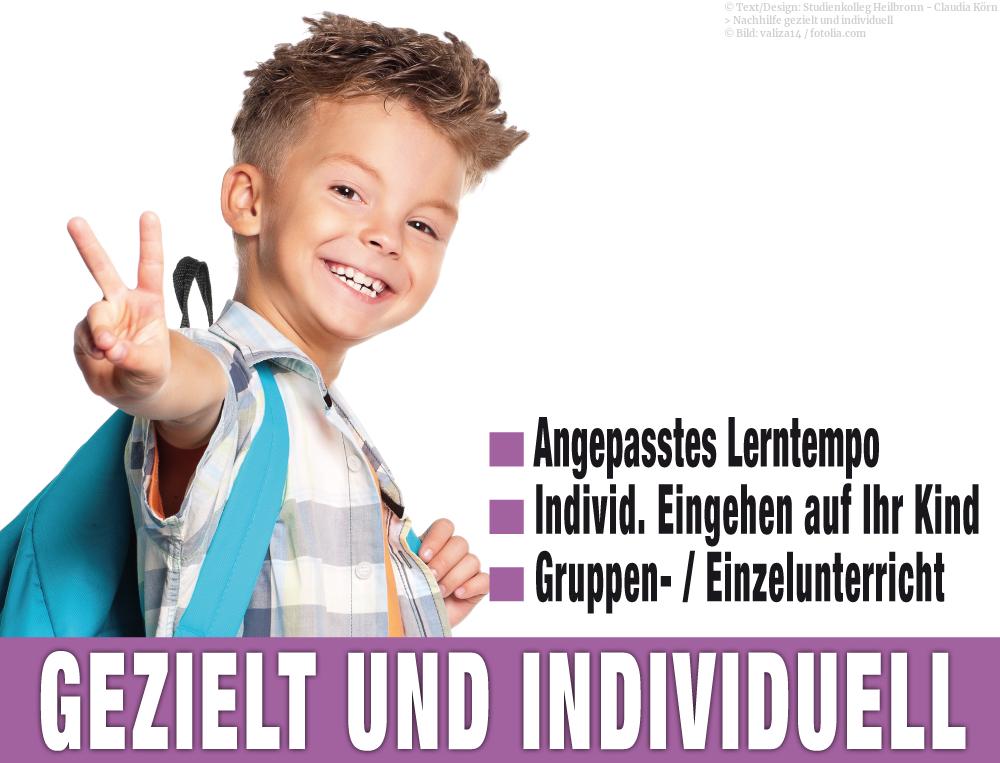 Im Studienkolleg Heilbronn gehen wir individuell auf Ihr Kind ein.