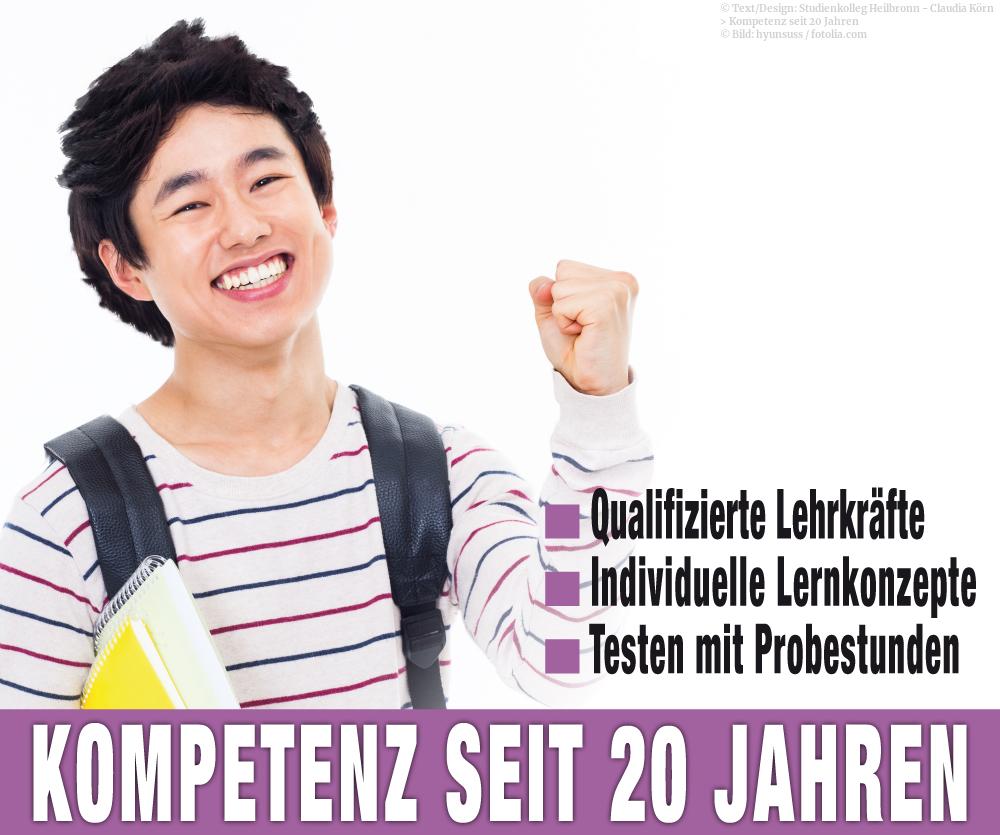 Individuelle Lernkonzepte durch Fachkräfte vermittelt - im Studienkolleg Heilbronn.