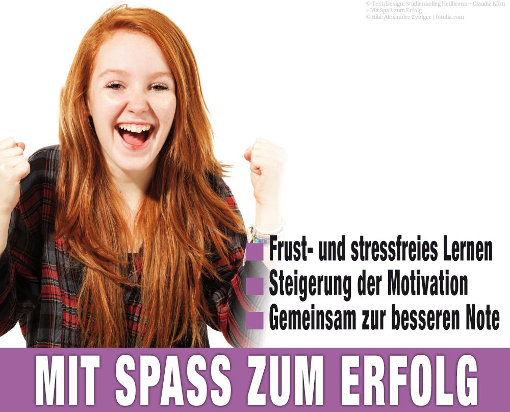 Mit Spaß zum Erfolg im Studienkolleg Heilbronn. Nachhilfeunterricht von Fachkräften.
