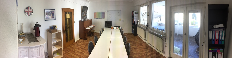 Studienkolleg Heilbronn - Unterrichtsraum 3 Panorama-1