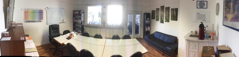 Studienkolleg Heilbronn - Unterrichtsraum 3 Panorama-2